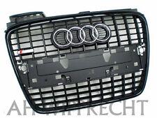 NEU RS4 Audi A4 8E B7 Tuning S-Line Kühlergrill Grill schwarz Frontgrill Gitter