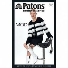 MOD Patterns Knitting and Instruction Booklet 4 '60's Designs