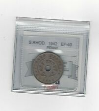 **1942** Southern Rhodesia, Penny,  Coin Mart Graded **EF-40**