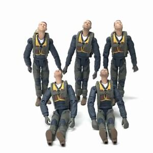 Lot 5x 21st Century Toys 1:18 The Ultimate Soldier WWII U.S. Action Figure Toys
