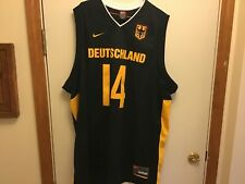 Dirk Nowitzki Deutschland Global Hardwood Heroes German National Jersey #14