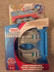 Thomas & Friends Turbo Track master pack/set, Thomas engine & boosters BRAND NEW