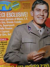 TV Sorrisi e Canzoni n°49 2004 Gianni Morandi racconta la sua storia [D21]