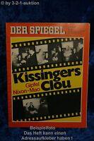 Der Spiegel 10/72 28.2.1972Kissingers Clou  Nixon - Mao