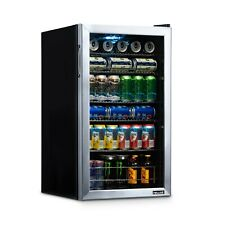 Blemished NewAir 126 Can Freestanding Stainless Steel Beverage Fridge AB-1200-BL