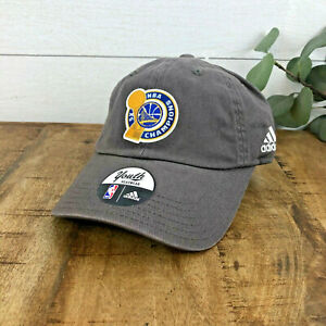 Golden State Warriors YOUTH sz adidas 2017 NBA Champions Official Cap Hat