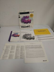 Microsoft Visual C ++ Professional Edition - for Windows 95 or NT Box and Papers
