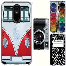 for LG Stylo 5/5 Plus(Clear) Slim Flexible TPU Skin Phone Case Cover-H