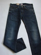 JEANS EDWIN  ED80 SLIM ( dark  cotton  - blue rigger repair  ) TAILLE W29 L34
