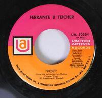 Rock 45 Ferrante & Teicher - Popi / Midnight Cowboy On United Artists Records 7