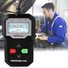 ODB2 EOBD Scanner Reset Tools Car Fault Code Reader Diagnostic KW590 Black