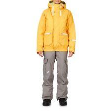 Vans Of The Wall Women's Kuara Snowboarding Jacket - Various Sizes - Yellow -New