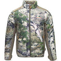 MOSSY OAK MEN'S INSULATED CAMO JACKET SIZE 3XL MOUNTAIN COUNTRY 3M THINSULATE
