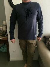 tshirt ruckfield manches longues XL bleu marine