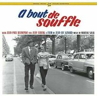 OST-A Bout De Soufflewith Jean Paul and Jean Seberg- A Film (New Vinyl)