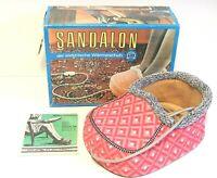 DDR Sandalon AKA der Wärmeschuh Rosa Damengröße im Originalkarton TOP