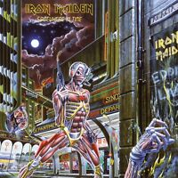 IRON MAIDEN - SOMEWHERE IN TIME  VINYL LP NEU
