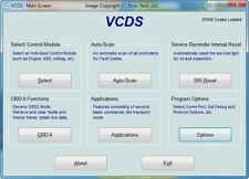 SOFTWARE CAR DIAGNOSTIC LAST VERSION VAG COM VCDS 20.4.1 FOR AUDI/VW/SKODA/SEAT