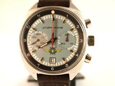 POLJOT  Soviet Watch. Vintage Rare. Sturmanskie, chronograph. Stainless steel.