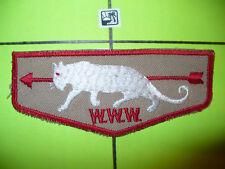 OA White Panther Lodge 345,F-2,1950s KHA Flap,558,Koi Hatachie, Delta Council,MS