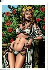 Conan Art Of The Hyborian Age Savage Sisterhood Chase Card S7