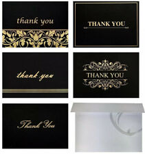 100 Thank-you Cards W Envelopes 4x6 High Quality Thank You Notes Blank Inside
