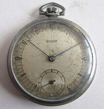 Rare Vintage Swiss Pocket watch - SILVANA/NOT WORK