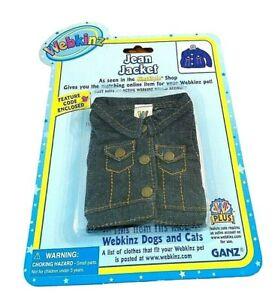 Ganz Webkinz Plus Jean Jacket with Code New in Package
