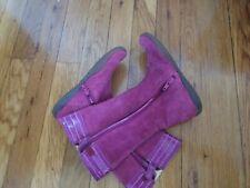 Naturino toddlers girls boots Size purple size 28