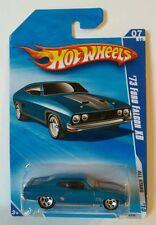 Hot Wheels  73 Ford Falcon Blue xb