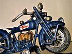 Harley Davidson Tether Motorcycle Midget Race Bike Car 1920s Racer Gold Engine
