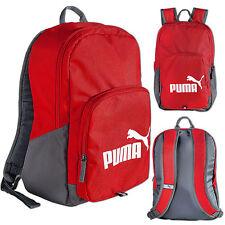 Puma Phase Zaino Scuola College Gym KIT Formazione Sport Viaggi Borsa Zaino