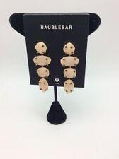 BaubleBar Peach PE Devina Drop Earrings Bm15