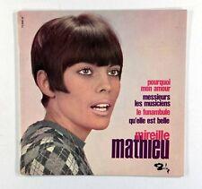 """Mireille Mathieu - Qu'elle Est Belle (7"""" EP in Picture Sleeve) Excellent Vinyl"""