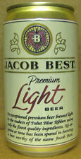 JACOB BEST LIGHT BEER Can, Milwaukee, WISCONSIN, & Tumwater, WASHINGTON Gd. 1/1+