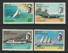British Indian Ocean Territory 1968 Ships set SG 32-35 Mnh.