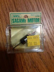 NWSL 10151-9 Sagami Motor 12 VDC 10 x 15 mm Boxed Japan