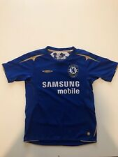Chelsea 2005/06 Home Shirt Centenary Size Medium Boys