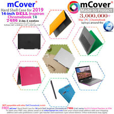 "NEW mCover® Hard Shell Case for 2019 14"" Dell Chromebook 14 7486 2-in-1 laptop"