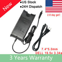 for Dell Latitude D600 D610 D620 D630 E4300 E6400 E6410 E6500 AC Adapter Charger