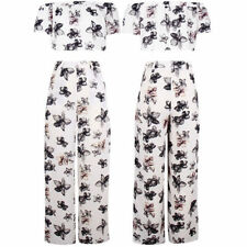 Chiffon Loose Fit High Trousers for Women