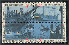 SC#1483a - 8c Boston Tea Party Issue Block of 4 MNH