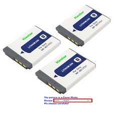 Kastar Replacement Battery for Sony OEM NP-BD1 NP-FD1 & Genuine BC-CSD BC-CS3