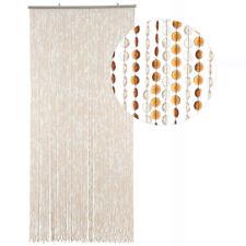 HAB & GUT Türvorhang MINI-DIAMANTEN, BRAUN / HELLBRAUN, Kunststoff, 90 x 200 cm
