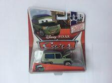 disney pixar cars 2 Sir miles axlerod with open hood mattel chase 1:55 diecast