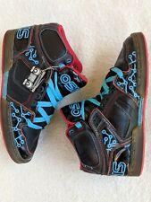 OSIRIS Men's NYC 83 Tron Black Blue High Top Skateboarding Shoes Size 10.5