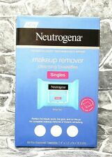 Neutrogena Makeup Remover Cleansing Towelettes Singles 60 Individual Wipes NEW!