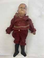 Early antique Schoenhut wood spring jointed doll, All Wood Perfection Art Doll