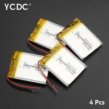 4PCS 3.7V 500MAH LI-ION BATTERY 503035 FOR MP3 MP4 PDA BLUETOOTH HEADSET GPS 61
