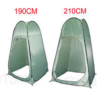 Pop Up Toilet Shower Tent Changing Room Beach Camping Portable Private Optional